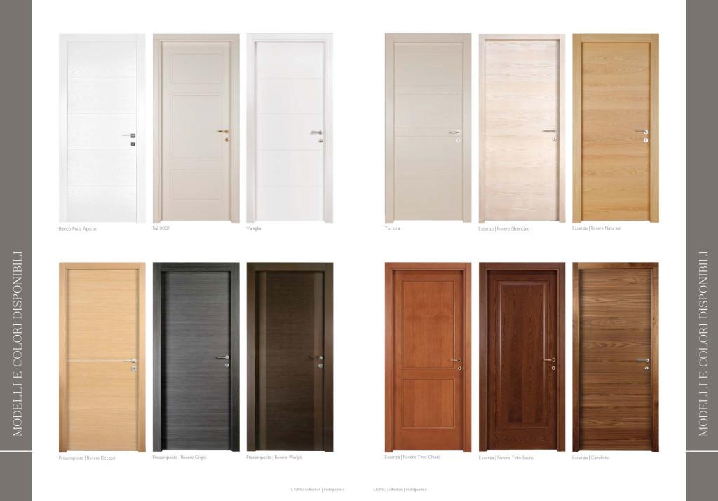 Porte interne tecnoplastcasa infissi pvc ad ancona e a - Modelli porte interne legno ...